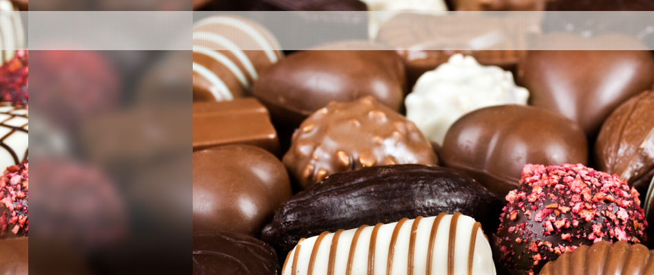 Chocolates banner home